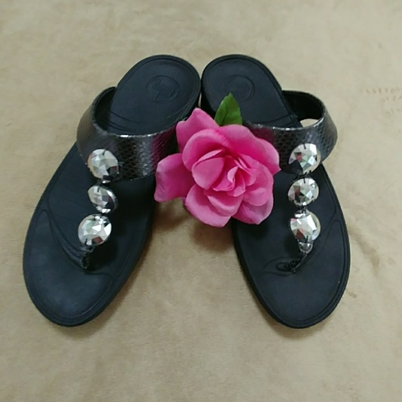4044cd3b7b95 Fitflop Shoes - Fitflop Petra jeweled sandals